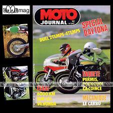 MOTO JOURNAL N°547 HONDA V45 VF 750 S SABRE & C CUSTOM / MAGNA, J-C PATRIER 1982