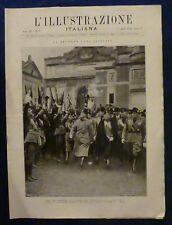 ILLUSTRAZIONE ITALIANA - N. 11/1928 - ROMA - FASCI COMBATTIMENTO-MUSSOLINI
