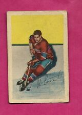 1952-53 PARKHURST # 52 CANADIENS DOLLARD STLAURENT ROOKIE GOOD CARD (INV# 9666)