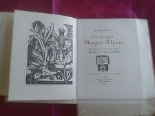 MUSSET:L'ANGLAIS, MANGEUR D'OPIUM,1920, Léon Voquet, Suite in fine, ex N° 43/850