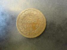 Dupré - Un décime An 4 A - Modification du 2 décimes