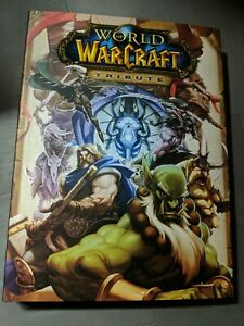 World of Warcraft Tribute Blizzard and UDON Art Book LIMITED EDITION HARDCOVER