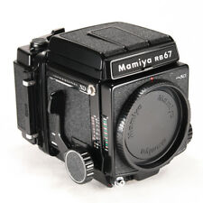 Mamiya RB67 Pro SD Medium Format SLR Film Camera w/ 120 Film Back * Excellent *