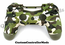 PS4 Controller Shell Housing Mod Button Kit - Limited Edition Camouflage
