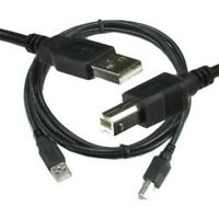 15ft Printer Cable USB 2.0 Type A Male to Type B Male Cable