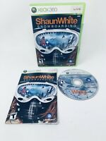 Shaun White Snowboarding Microsoft Xbox 360 Complete Game Case Manual Mint