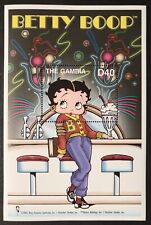 Gambia Betty Boop Stamps S/S 2002 Mnh Soda Fountain Animated Cartoon Character