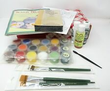 New Plaid One Stroke Donna Dewberry Acrylic Paints Kit QVC Season Delight