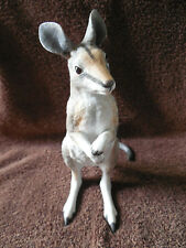 LENOX BRIDLED NAIL-TAILED WALLABY ENDANGERED BABY ANIMALS 1993
