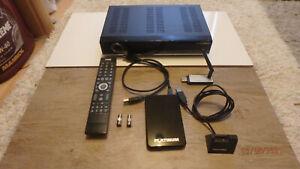 TechniSat TwinSat Receiver, 1000 GB FESTPLATTE, W-Lan Adapter, Zubehör, WIE NEU