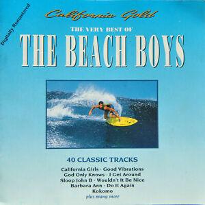 "THE BEACH BOYS – ""California Gold * 40 Classic Tracks Do-CD, 1990"