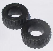 Playmobi 2 x rueda ruedas de set 3473 3961 7655 7296 camiones pieza de repuesto accesorios