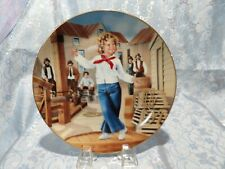 """J - Shirley Temple """"Captain January"""" Collectors Plate"""