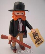Playmobil Sheriff/Poster deseado de Marshall con nuevo figura extra para conjuntos occidental