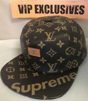 Louis Vuitton x Supreme 5 Panel Hat MP1879