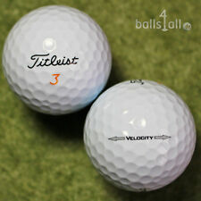 50 Golf Balls Titleist Velocity AAA/AAAA Quality 2x 25 Balls Lakeballs Golf Ball