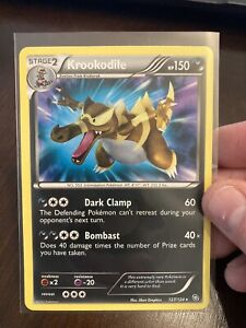 Krookodile 127/124 Secret Rare Dragons Exalted Pokemon Card