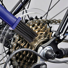 Cycling Motorcycle Bicycle Bike Chain Set Crankset Brush Cleaner Cleaning ToolFF