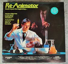 "RE-ANIMATOR (H.P. Lovecraft's) - ""RARE"" Laserdisc LD *Very Good Condition*"