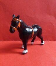 CRESCENT TOYS VINTAGE DIECAST METAL FARM SERIES SHIRE HORSE No 353