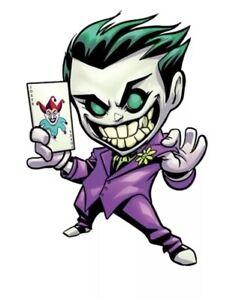 "Joker Patch Heat Transfer Graphic Applique 3.94"" X 2.76"" Comics Movie"