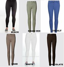 EX M&S COLLECTION SIZES 6-30 9334 5 POCKET JEGGINGS 9 COLOURS ADDED STRETCH