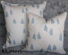 "*JOHN LEWIS Lotta ""Slate"" Cushion Cover 16"" Scandi Style Fabric ,Double Sided"