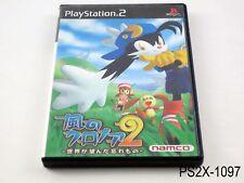 Kaze no Klonoa 2 Playstation 2 Japanese Import Japan JP PS2 US Seller B
