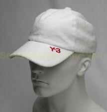 Y-3 ADIDAS YOHJI YAMAMOTO pet fratté L/XL wit NIEUW np:€75