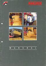 Mailleux Manubal, orig. Prospekt 90er Jahre