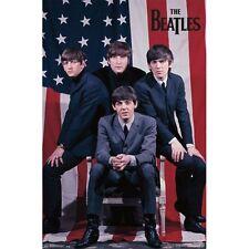 The Beatles - Flag 22x34 Standard Wall Art Poster