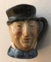 Mr Micawber Vintage Royal Doulton Toby Jug Character Mug 1940s D6143 Tiny