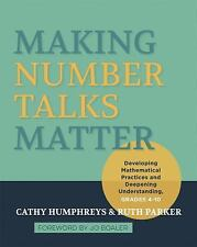 Making Number Talks Matter : Developing Mathematical Practices and Deepening ...
