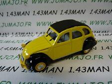 Auto 1/43 norev citroën : 2 CV nr.101 KLEE gelb & schwarz