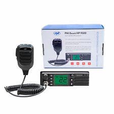 CB Radio PNI escolta HP 9500 multistandard, ASQ, Vox, escaneo, 4W, 12V/24V, Fm Am -
