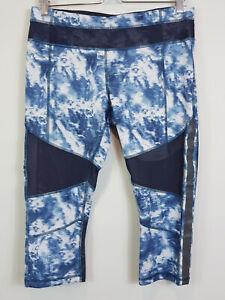 LULULEMON  | Womens Tie Dye Print Crop Leggings Pants [ Size AU 14 or US 10 ]