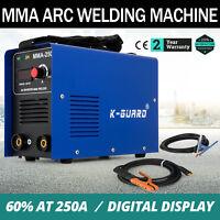 Maquina de Soldadura Eléctrica IGBT MMA 250A Soldador Inversor Eficiencia 60%