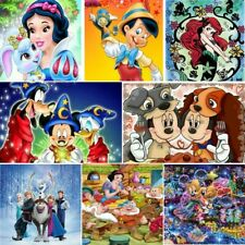 5D Diamond Painting Mosaic Full Round Drill Cartoon Kits Art Embroidery Home