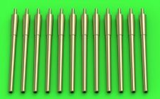 Master 1/700 USN 14in/50 (35,6cm) Gun Barrels - for Turrets with Blastbags # SM7