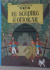 Tintin -Le sceptre d'ottokar  - Version souple 2000