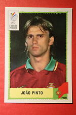 Panini EURO 2000 N. 67 PORTUGAL JOAO PINTO TOP MINT WITH GREEN BACK