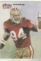 FREE SHIPPING-MINT-1991 Pro Set Charles Haley #393 49ERS PLUS BONUS CARDS