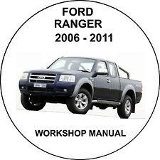 Ford Ranger 2006-2011 Workshop Service Repair Manual