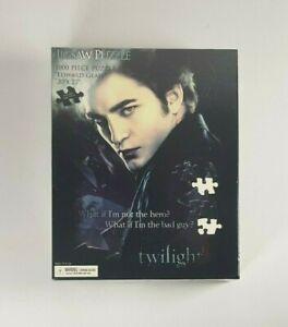 New - Neca Twilight Edward Glass Jigsaw Puzzle 1000 Pieces Robert Pattinson