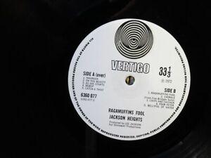 Jackson Heights:   Ragamuffins Fool  UK   1972  1Y2/2Y2 First Press  EX  LP
