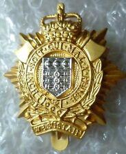 Badge- Royal Logistic Corps Cap Badge, QC (NEW*)