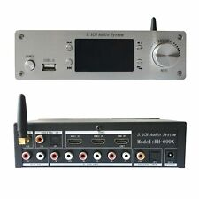 4K HDMI 5.1 Audio Decoder BT5.0 DAC Lossless Player For DTS U Disk Standard Ver.