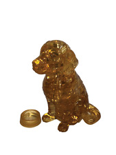 Golden Retriever 3D Crystal Puzzle