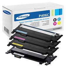 4 ORIGINAL TONER Samsung CLP365W CLX3305FN CLX3305FW CLX3305W C410W C460FW C460W
