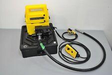 New listing Enerpac Pud1101B 2-Speed Electric Hydraulic Pump 115V w/ wired Remote & Hose